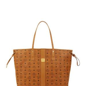 d00b2a1842 MCM Large Liz Shopper Reversible Visetos Bag