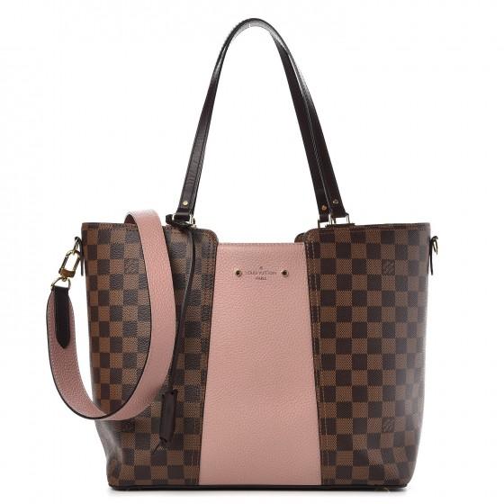 7a1c5bca4b Louis Vuitton Manoglia Jersey Damier Ebene Tote Bag