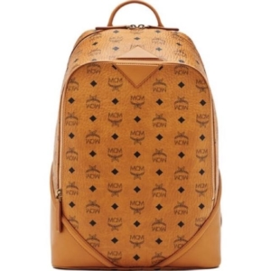 f99bf5ff05 MCM Duke Visetos Backpack Cognac