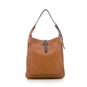 3269333fc8 Hermès Marwari PM Gold Clemence Shoulder Bag
